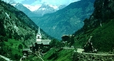 Architecture and nature: what Switzerland was like in 1954
