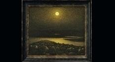 Картина «Золотая ночь» украинского художника Ивана Марчука