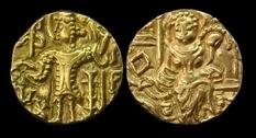 Часть коллекции монет, найденных Чарльзом Массоном