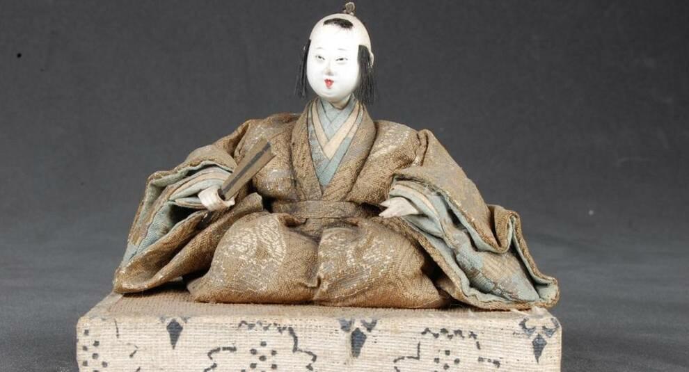 Японские церемониальные куклы из коллекции Коллингвуда Ингрэма