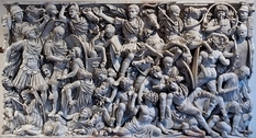 Romans and Barbarians: The Ludovisi sarcophagus