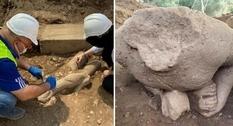 В Турции обнаружены две статуи времён древней Карии