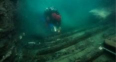 Корабль и захоронение: новые находки в затопленном Гераклионе