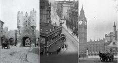 Англия на старых снимках первого десятилетии прошлого века
