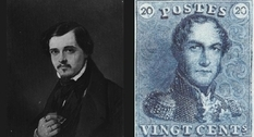 Charles Bonnier: artist, author of the first Belgian stamp