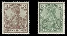 Стандартные почтовые марки Германии в первых десятилетиях прошлого века