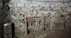 Frescoed tombs were found in the eastern part of China
