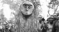 Ритуальные танцы в Нигерии в начале XX века