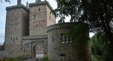 Средневековая крепость в Шотландии: замок Бортвик