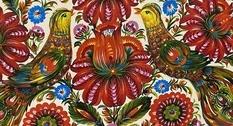 В Музее искусств Прикарпатья открылась выставка петриковской росписи