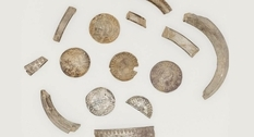 A retired police officer has discovered a medieval treasure on the Isle of Man