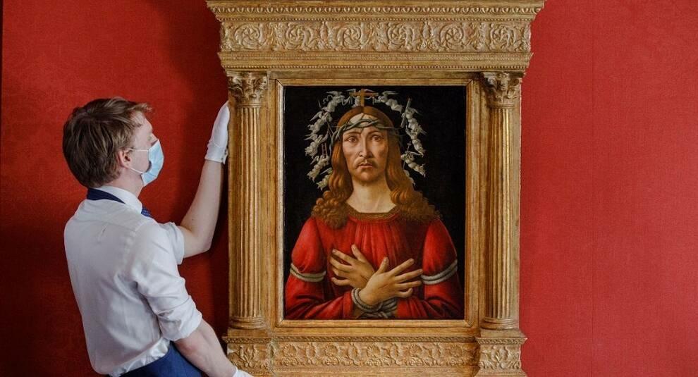 Картину Боттичелли «Муж скорбей» оценили в 40 млн долларов и выставят на Sotheby's