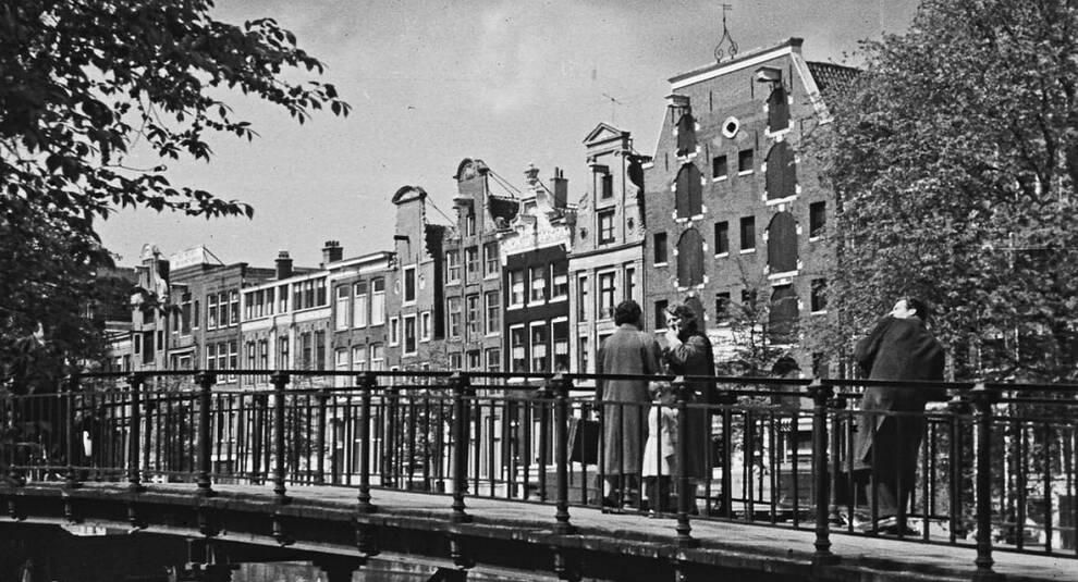 Повседневная жизнь и архитектура Амстердама в 1958 году
