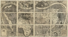 Universalis Cosmographia: карта, на которой впервые упомянута Америка