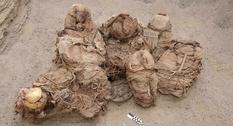 В Перу работники газовой службы нашли захоронение XIII века