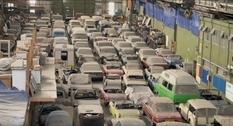 Обнаруженную в Лондоне коллекцию машин собираются быстро распродать на аукционе