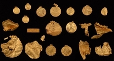 A treasure hidden before the appearance of the first Vikings has been discovered in Denmark