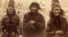 Портретные фото саамов от Каролины Фон Дюбен