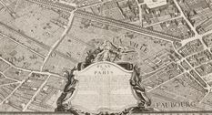 Подробнейшая карта Парижа XVIII века: План Тюрго