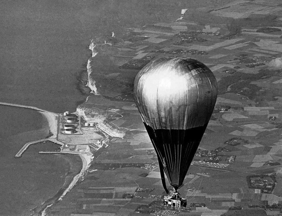 Перелет на воздушном шаре через Атлантику