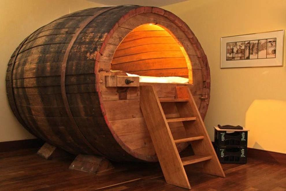 Сон в бочке, или как можно использовать старую емкость для пивоварения