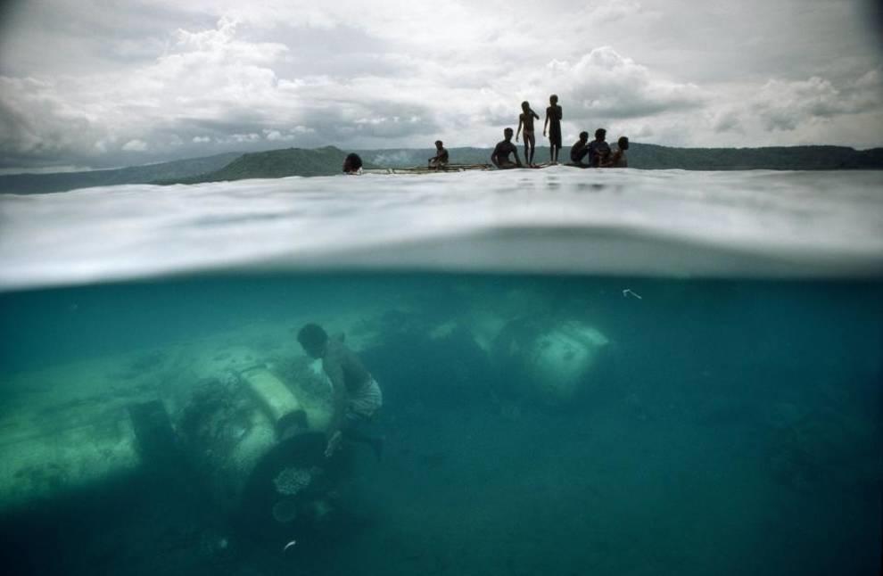 Подводное кладбище: военная техника времен Второй мировой войны, которая покоится на дне океанов и морей