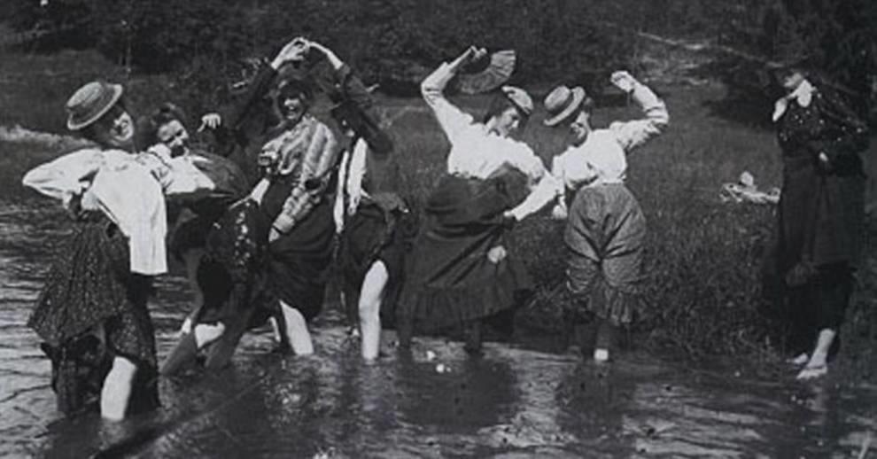 Подборка фотографий молодежи, сделанных в XIX — начале XX века