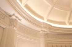 Carved buazeri in modern interiors