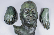 In Britain, they sold Stalin's death mask