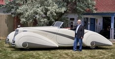 After two years of restoration Cadillac in 1937 release ready for the auto show
