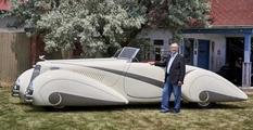 После двух лет реставрации Cadillac 1937 года выпуска готов к автошоу