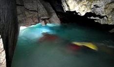 С ластами, в гидрокостюмах и с кислородными баллонами: на Тернопольщине исследуют глубочайшее подземное озеро Украины