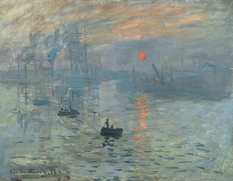 Popular styles of painting: impressionism