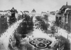 How did Lvov live during the German occupation in 1941?