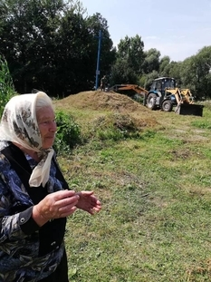 On the Ternopil region, the burial of the UNR soldiers shot