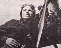 Единственная женщина, которая выполнила воздушный таран во время Второй мировой войны