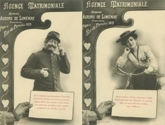 What did bachelors and bachelors write in nineteenth-century marriage announcements?
