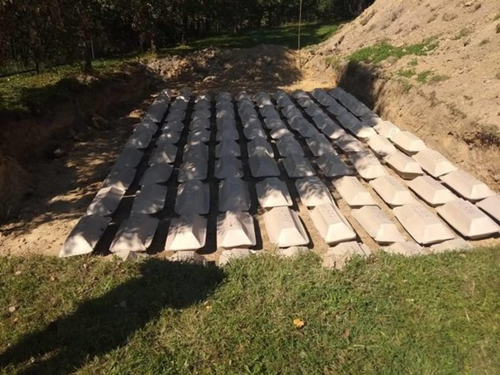 На Львощине перезахоронили останки венгерских воинов, погибших во время Второй мировой войны