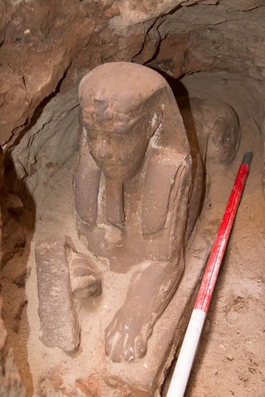 В египетском Аусане нашли нового сфинкса