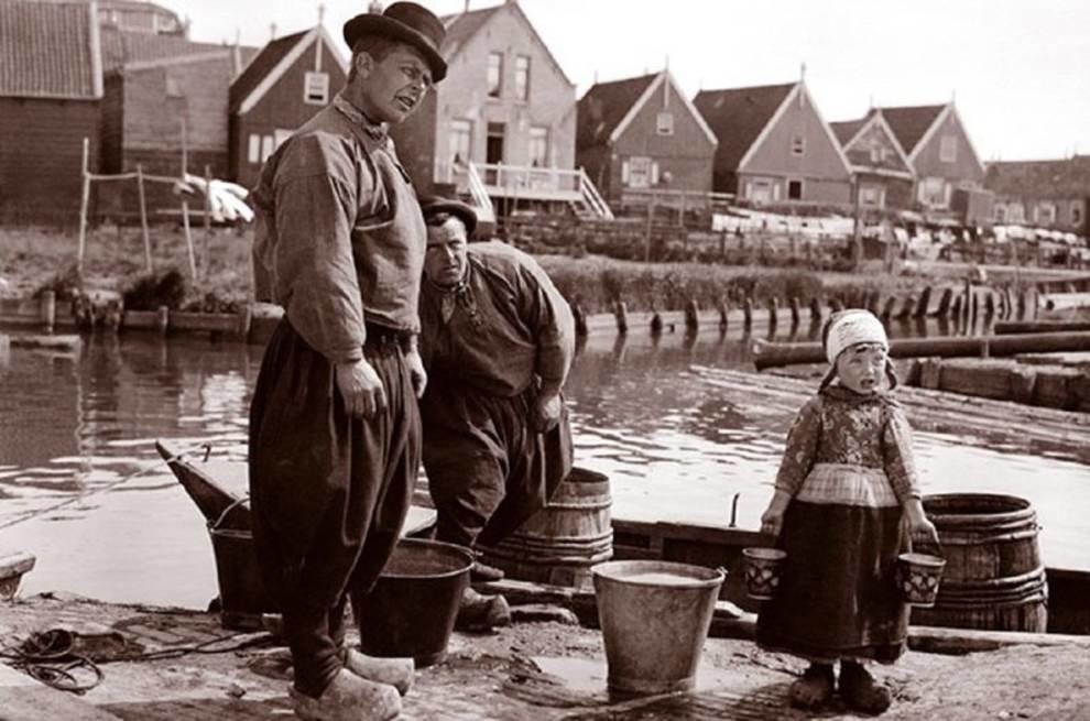 Европа 100-летней давности: подборка винтажных фотографий