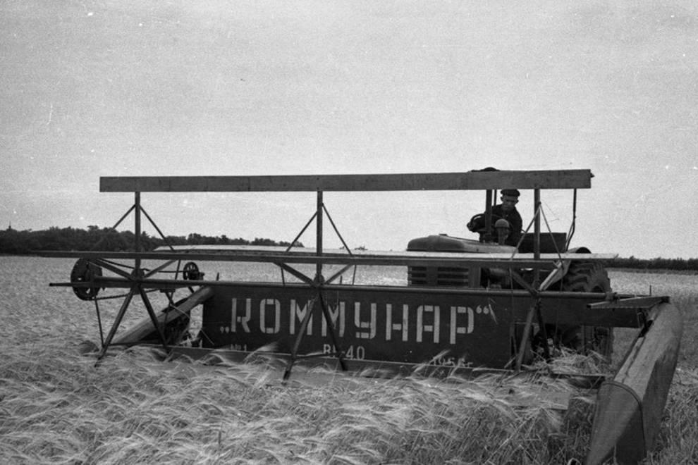Первый украинский комбайн: прототипом был американский агрегат фирмы Caterpillar