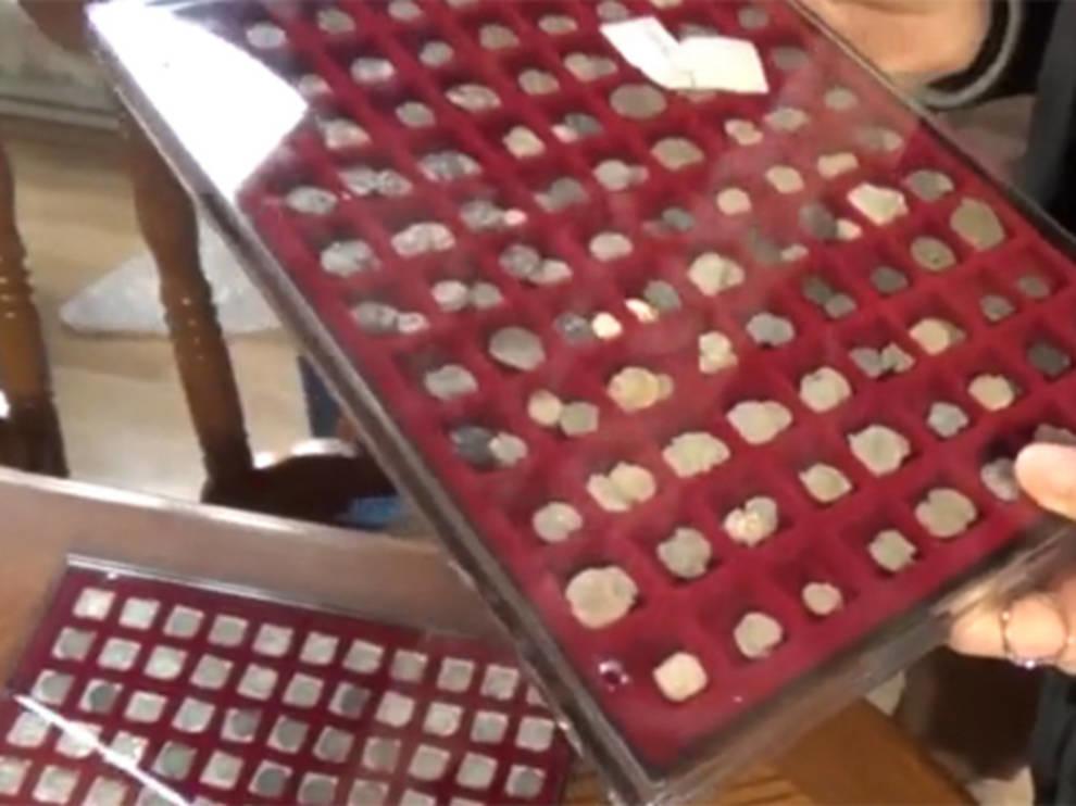 У известного краеведа изъяли коллекцию монет