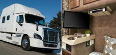 Не хуже шикарных квартир: дальнобойщики из США показали, как обустраивают свои грузовики (Фото)