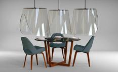 Christophe Gernigon представил подвесные вытяжки из плексигласа