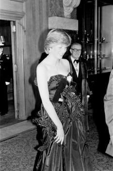 ОХО вспомнил платье принцессы Дианы, изменившее ее стиль навсегда