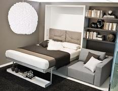 Компактность, функциональность и красота — кровати-трансформеры, которые можно замаскировать в маленькой комнате