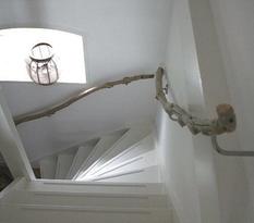 Unusual railings in the interior