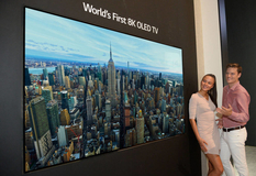 In 2019, sales of 8K OLED TVs from LG will start