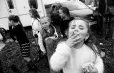 Путешественники с пеленок — дети ирландских цыган на черно-белых снимках