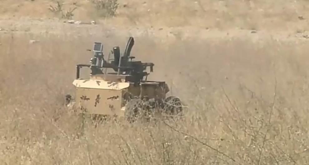 Иранские конструкторы разработали боевого робота